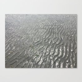 Imprints of Ripples Canvas Print