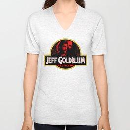 JURASSIC GOLDBLUM Unisex V-Neck