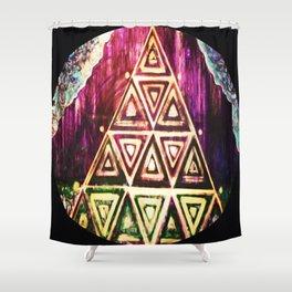 manifestorium portal Shower Curtain