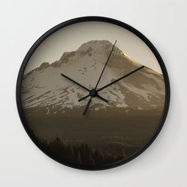 Mount Hood Adventure IV Wall Clock