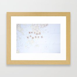 SWEET ESCAPE Framed Art Print