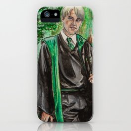 Draco Malfoy iPhone Case