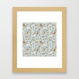 Llamas Framed Art Print