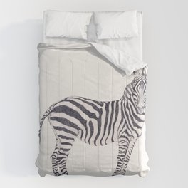 Zebra Sketch Comforters
