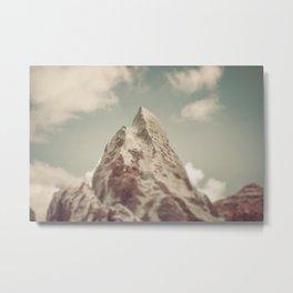 Theme Park Everest Metal Print