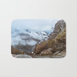 Patagonian Highway, Los Lagos, Chile Bath Mat