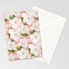 Magnolia Garden (pink) Stationery Cards