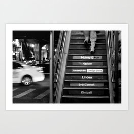 Chicago | Stairway to L Art Print