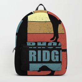 Rhodesian Ridgeback Dad | Dog Owner Backpack