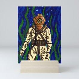 Diving Suit Mini Art Print