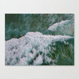 Surf Photography, Beach Wall Art Print, Ocean Water Surfing, Coastal Decor Canvas Print
