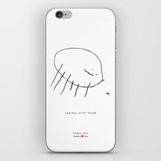 [spider with food] - nadya 3 yr iPhone & iPod Skin