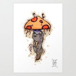 Odd Shroom Art Print