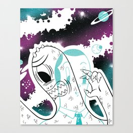 Space Beat 2 Canvas Print