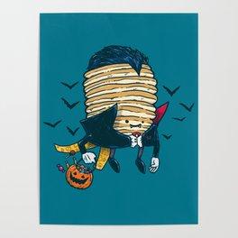 Spooky Pancake Poster