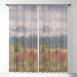 Seasons Turning Sheer Curtain