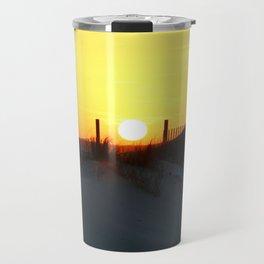 Emerald Isle Sunset Travel Mug