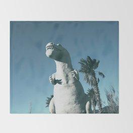 Cabazon Dinosaurs Throw Blanket