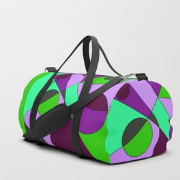 Abstract pattern Cuts Duffle Bag