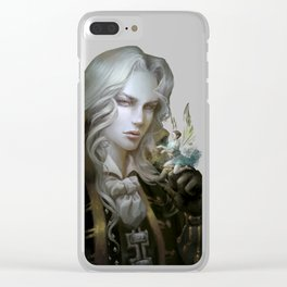 Alucard. Castlevania Symphony of the Night Clear iPhone Case