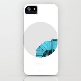 Air intake/ Cian iPhone Case