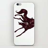the hound iPhone & iPod Skins featuring Happy Hound  by exeivier