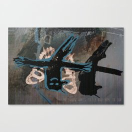 Mr Shadow Canvas Print