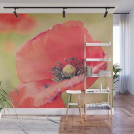 Poppies Will Make You Sleep Wall Mural