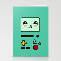 bmo Stationery Cards featuring BMO by Janice Wong