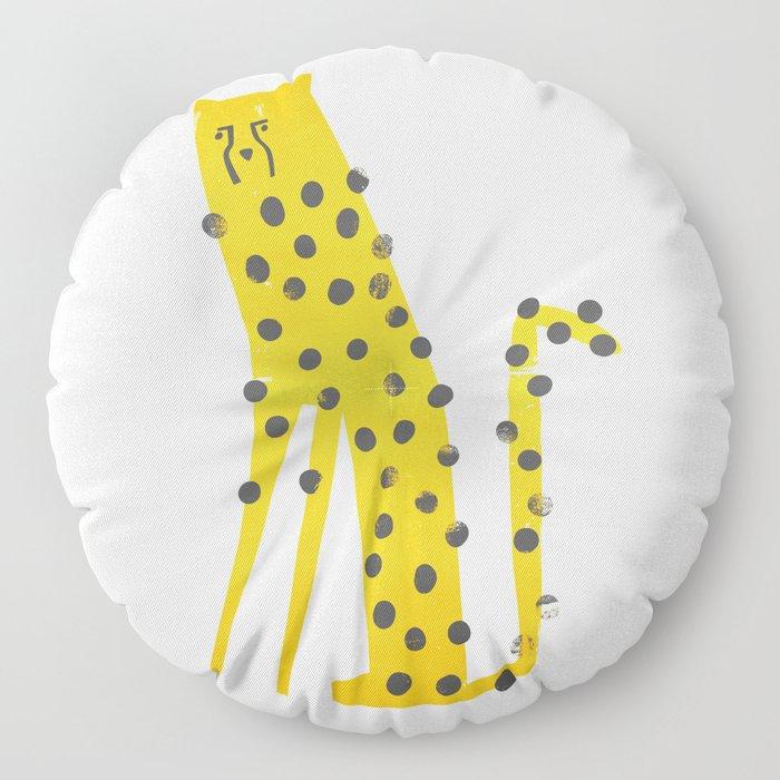 Speedy Cheetah Floor Pillow