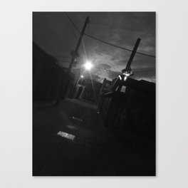 Mysterious Alleyway Canvas Print