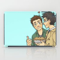 pie iPad Cases featuring DeanCas -Pie by KalesButt