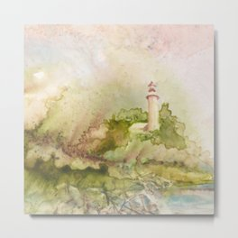 Summertime at Point Aux Barq Metal Print