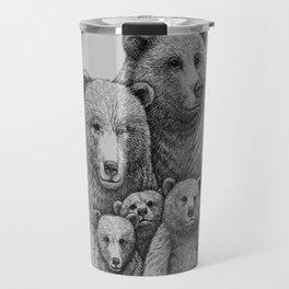 Family photo (mr. Bear) Travel Mug