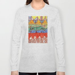 The Indoor Swimming Pool Long Sleeve T-shirt
