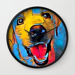 Labrador Retriever 2 Wall Clock