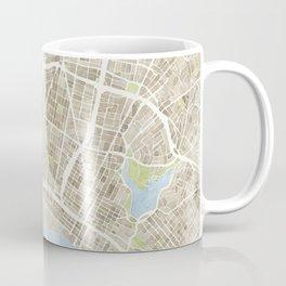 Oakland California Watercolor Map Coffee Mug