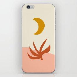 Waxing Crescent Moon iPhone Skin