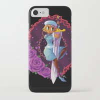sword iPhone & iPod Cases featuring Sword by S.A.
