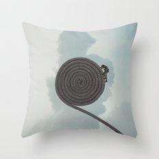 Spiral of Death Throw Pillow
