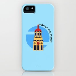 Manila, Philippines iPhone Case