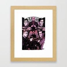 GOTHAM 2 Framed Art Print