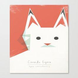Canada Lynx Canvas Print