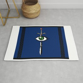 The Reaver in Blue Rug
