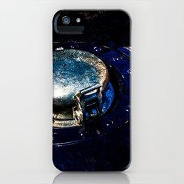 Gas Tank Locking Cap Blue Color iPhone Case