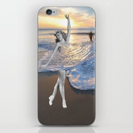 Like a wave iPhone Skin