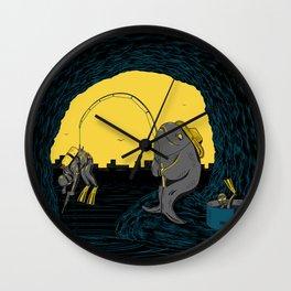 Fisher Fish Wall Clock