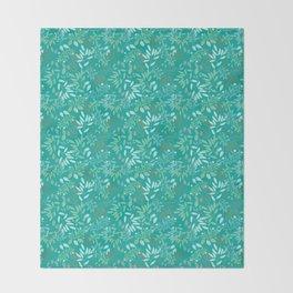 Leafy Greens Throw Blanket