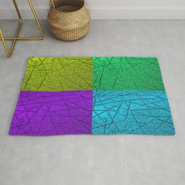 Scratches (Multi-color) Rug
