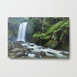 Rainforest waterfalls, Hopetoun Falls, Great Otway NP, Victoria, Australia Metal Print